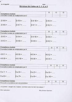 EVALUATIONS CE2 TRIMESTRE 3 (A l'encre violette ...