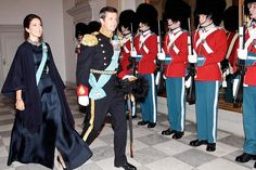 Crown Prince Frederik and Crown Princess Mary at the New Year reception - 2nd Day