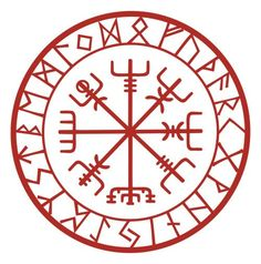 "TATTOO!  Vegvisir ""If this sign is carried, one will never lose one's way in storms or bad weather, even when the way is not known."""