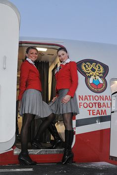 Red Wings Airlines...flight attendants
