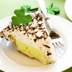 Saint Patricks Pistachio Pudding Pie Simple As Pie!  Pistachio pudding pie that is...!  This pie is perfect for Saint Patrick's Day and it couldn't be any simpler!