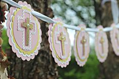 Items similar to FIRST COMMUNION Cross Banner Holy Communion Banner Baptism Banner Communion Decorations Baptism Decorations Baptism Sign Pink and Gold on Etsy First Communion Banner, First Communion Decorations, Baptism Banner, Baptism Decorations, Baptism Party, First Holy Communion, Baby Christening, Pink And Gold, Glitter Party