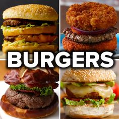 6 Mouth-Watering Burger Recipes by Tasty