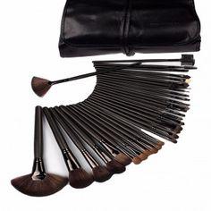 Kit de maquillaje profesional con piezas