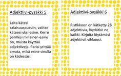Adjektiivipysäkki 5-6.