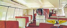 Avion Jet, Aircraft Interiors, Boeing 747, Airplanes, Portal, Vintage Airline, Cabins, Classic, Elegant