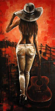 Buy Guitar Girl an Acrylic Painting on Canvas by Dita Omuri from United Kingdom For sale Price is 580 Size is 39 4 x 19 7 x 1 4 in Acrylic Painting Canvas, Canvas Art, Buy Canvas, Canvas Ideas, Painting Canvas Sizes, Guitar Girl, Buy Guitar, Guitar Logo, Guitar Tabs