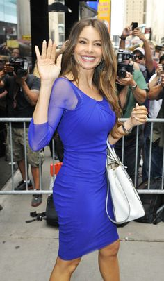 Sofia Vergara. Nominated for Supporting Actress in a Comedy, Modern Family - 2013 Emmy. A Summer Moon!