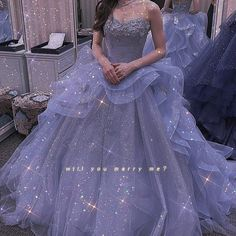 Quince Dresses, Ball Dresses, Ball Gowns, Ballroom Gowns, Fantasy Gowns, Fairytale Dress, Beautiful Gowns, Dream Dress, Look Fashion