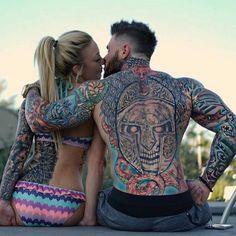 Tattoos=Alex Turner and wife