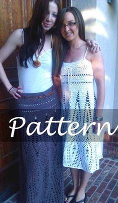 CROCHET PATTERN for Amanda's Dress by SansLimitesCrochet on Etsy, $7.00 Luv this designer! She is on ravelry too!