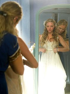 Mamma Mia! I totally thought about this dress for my wedding. Beautiful!