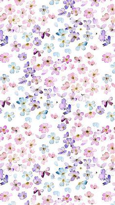 Floral wallpaper:) uploaded by Bones on We Heart It Tumblr Backgrounds, Wallpaper Backgrounds, Iphone Wallpaper, Cell Phone Wallpapers, Flower Wallpaper, Illustration Blume, Pattern Illustration, Pretty Patterns, Flower Patterns