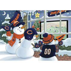 Chicago Bears Christmas Cards