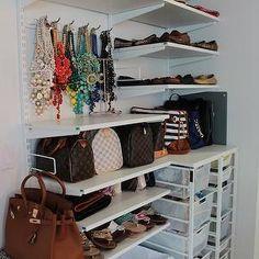 Organized Closet, Contemporary, closet, Southern Shopaholic