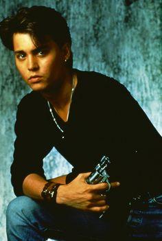 Johnny Depp - 21 Jumpstreet promo, 1987