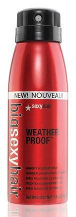 Big Sexy Hair Weather Proof Spray- best hair product of all time. Say goodbye to those unwanted frizzies or unwarranted waves in your nicely straightened hair!!!