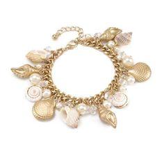 514510 BRACELET - GOLD LINK SEA LIFE