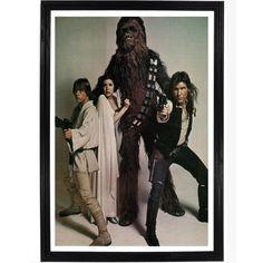 Star War Cast Photo Poster