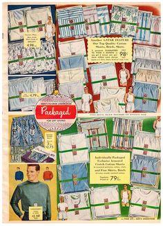 1952 mens underwear (catalog)