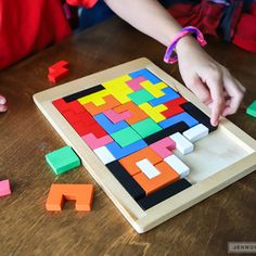 DIY Tile Puzzle! Here's a really fun project by Jen Woodhouse on Ryobi Nation