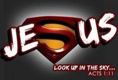 Jesus is my superhero! Superman Movies, Real Superman, Superman Logo, Acts 1, Vacation Bible School, Kids Church, Church Ideas, Church Camp, Catholic Kids