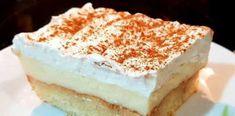 Βυζαντινό ! Lemon Cheesecake, Vanilla Cake, Tiramisu, Health, Ethnic Recipes, Desserts, Food, Gym, Lime Cheesecake