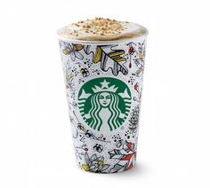 Toasted Graham Latte is the new fall flavor from Starbucks. Nice alternative if you're over pumpkin spice. (Ha.)