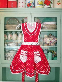The Color Red ~ Apron