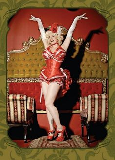 La Cholita: Burlesque performer, singer, pin-up model, and mom.