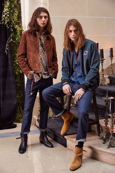 See the complete The Kooples Fall 2017 Menswear collection.