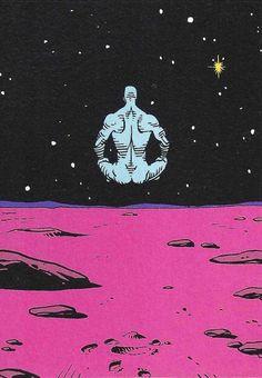 "The ""Who Watches the Watchmen"" Podcast Comic Books Art, Comic Art, Dr Manhattan, Boca Anime, Star Wars, Superhero Movies, Weird Art, Vintage Comics, Retro Futurism"
