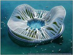 Floating city Dubai
