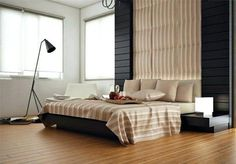 When you intend to attain a balance of mind, body and spirit at night, then a Zen bedroom is perfect for you. Zen bedrooms are indulgent oasis where one would undoubtedly love to spend time and escape from the stresses… Master Room Design, Master Bedroom Interior, Modern Bedroom, Bedroom Decor, Zen Bedrooms, Zen Furniture, Kids Bedroom Designs, Bed Designs, Design Case