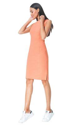 Catherine - pastel - Jersey lycra pencil dress | LaDress