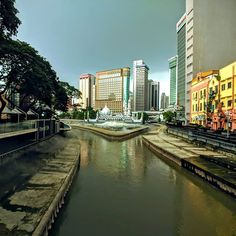 Near Merdeka square Kuala Lumpur - literally one minute before a heavy thunderstorm City Photography, Mobile Photography, Thunderstorms, Kuala Lumpur, Business Travel, Travel Around The World, Instagram, Lightning Storms, Urban Photography