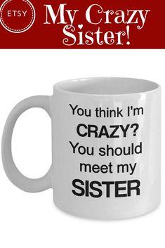 Funny brother mug, Funny brother gift, sibling gift, mug for brother, brother gift idea, brother coffee mug, Brother Christmas, From Sister #ad