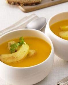 Apfel-Kürbis-Suppe: http://kochen.gofeminin.de/rezepte/rezept_apfel-kurbis-suppe_330674.aspx  #suppe #vegetarisch