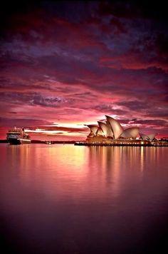 L O V E♥♥ this amazing sunset!