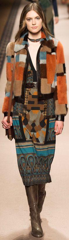Etro, fall 2015 Ready-to-Wear