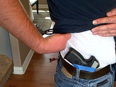 use tape to mark the cant you want for your holster.