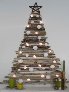 Christmas Tree Using Recycled Materials.Pinterest