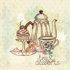 Té y postres