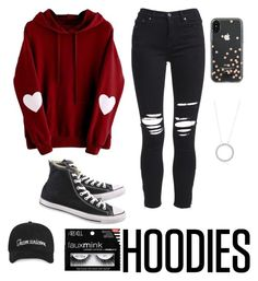 """""""Hoodies contest❤️"""" by ellag130 on Polyvore featuring AMIRI, Converse, Kate Spade and Hoodies"""
