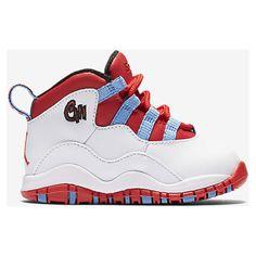 Air Jordan Retro 10 (2c-10c) Infant/Toddler Kids' Shoe. Nike.com featuring polyvore