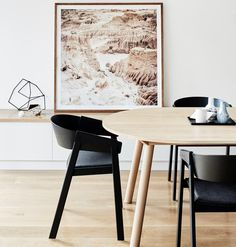 Muuto Cover Chair in Black $830