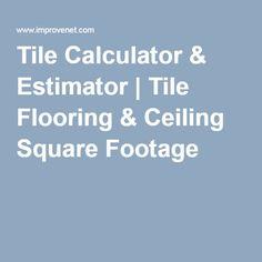Square footage calculator flooring ideas pinterest for Calculate flooring square footage