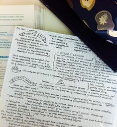 ||| university, notes, school, student, study, inspiration, inspo