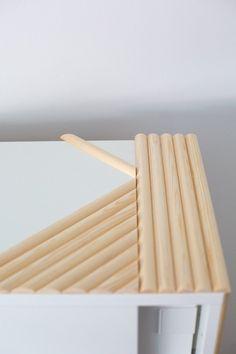Watch an IKEA Nightstand Easily Transform Into a Modern Side Table Ikea Shoe Storage Cabinet, Nordli Ikea, Furniture Makeover, Diy Furniture, Porta Diy, Modern Birdhouses, Small Bedroom Storage, Small Storage, Ikea Decor