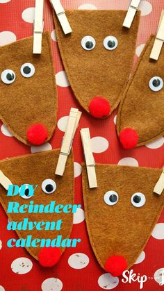 Dollar Store Crafts, Crafts To Sell, Diy Crafts, Paper Crafts, Handmade Crafts, Fabric Crafts, Christmas Countdown, Christmas Time, Christmas Ideas